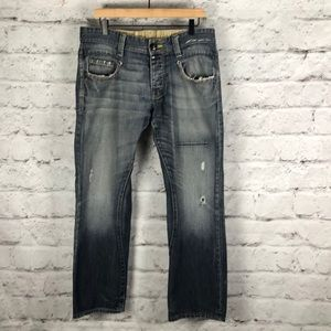 "G-STAR 3301 Style Distressed Jeans Sz 36"" Waist"